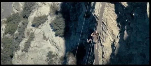 デッドクリフの吊り橋