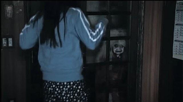 ドア越しの高速ばぁば