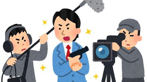 演技する日本人俳優