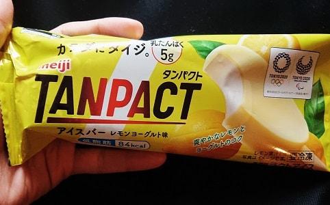 TANPACTのアイスバーレモンヨーグルト味