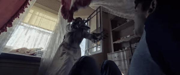 襲ってくるラヨローナの幽霊