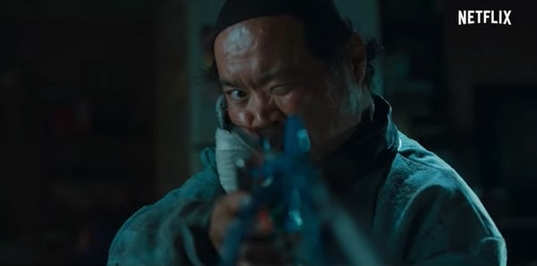 SweetHomeでハン・ドゥシンを演じるキム・サンホ