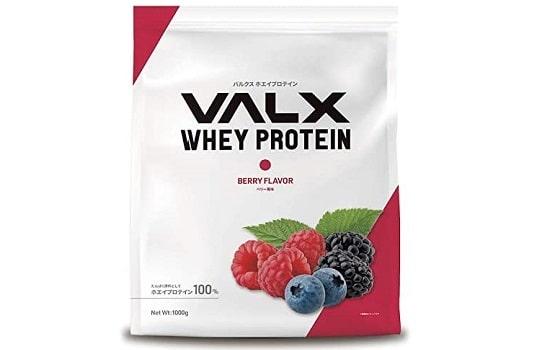 VALXホエイプロテインのベリー風味
