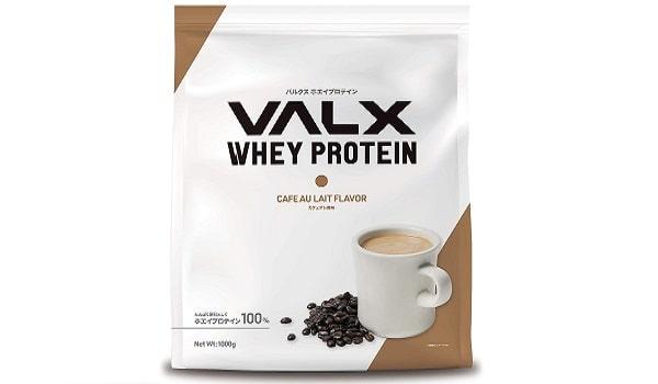 VALXホエイプロテインのカフェオレ風味
