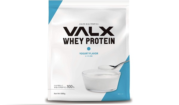 VALXホエイプロテインのヨーグルト風味